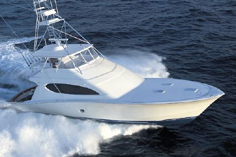 2008 Hatteras 68 Convertible - Manufacturer Provided Image