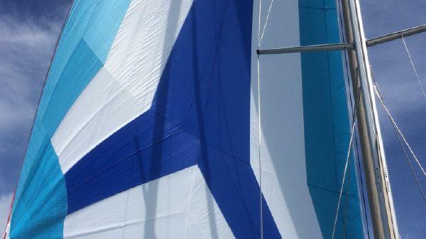 Catalina 355 Bay Drean  Kite Flying