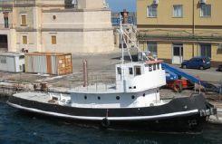 1969 Custom Cantiere Navale Pellegrino Rimorchiatore 22 Mt