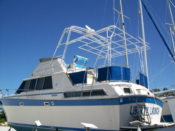 1986 Silverton Aft Cabin OWNER MOTIVATED!! - New Frame for canvas