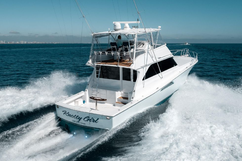2000 Viking 58 Convertible Knotty Girl Fort Lauderdale FL for sale