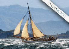 2012 New Classic Hardangerjakt Alma af Karmøy