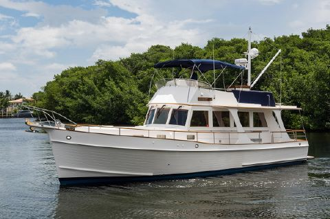 2005 Grand Banks 46 Europa - Port Profile