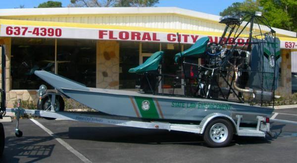 Floral City 14' Law Enforcement