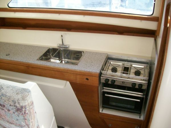 Galley on Starboard