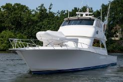 2005 Viking 61' Enclosed Bridge w/ Mezzanine