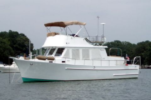 1984 Marine Trader Double Cabin Trawler - Photo 1