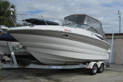 2004 Crownline Express - On her trailer ready to launch