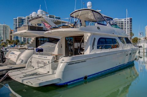 2006 Carver 56 Voyager - Profile Stb
