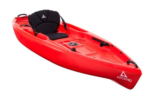 2018 Ascend D10T Sit-On (Red)