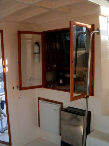 1987 Present Sundeck - Sundeck custom wet bar