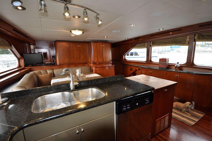 2001 Custom Luxury Motor Yacht For Sale Massachusetts