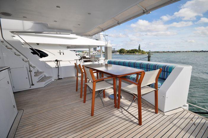 2001 Custom Luxury Motor Yacht Brokerage Purchase