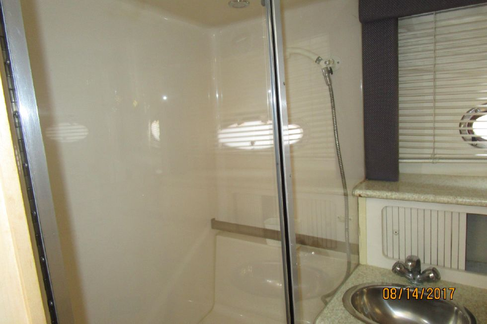 Aft Head Shower Stall