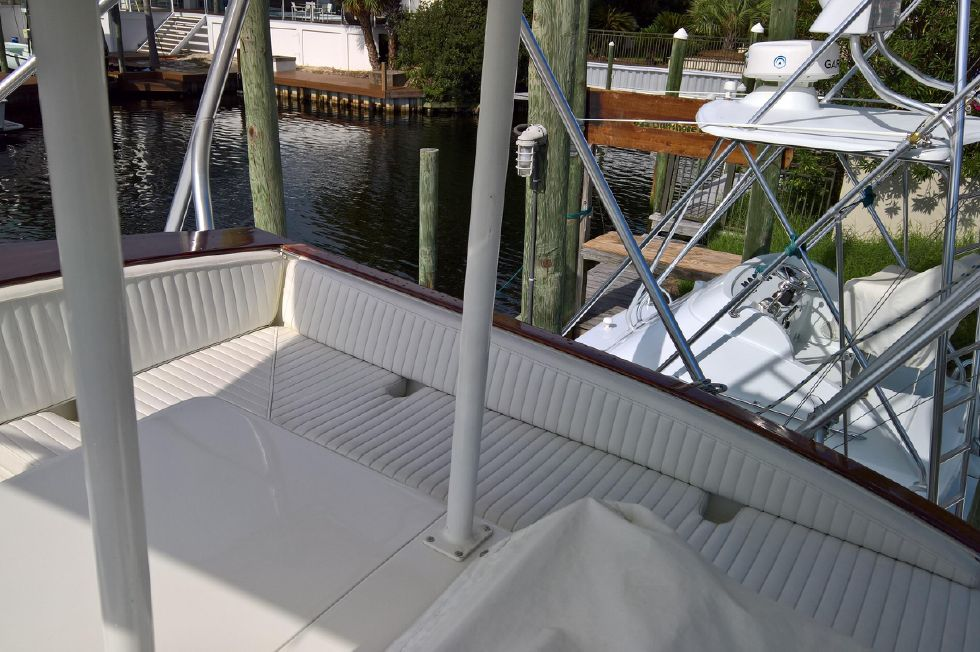 Starboard Side of Flybridge