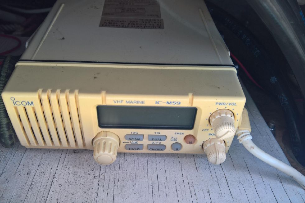 VHF Radio in Tower