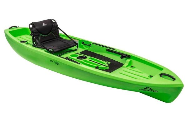 2018 Ascend 10T Sit-On-Top (Lime)