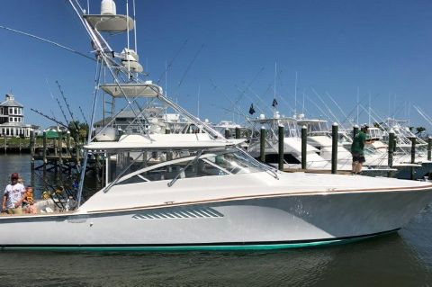 2006 Viking 45 Open - Profile