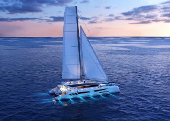 2021 Custom Eco yacht catamaran 110'