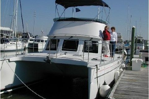 2005 PDQ 34 Power Catamaran - PDQ 34 EXOCET