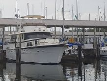 1983 Hatteras 53 Extended Deckhouse