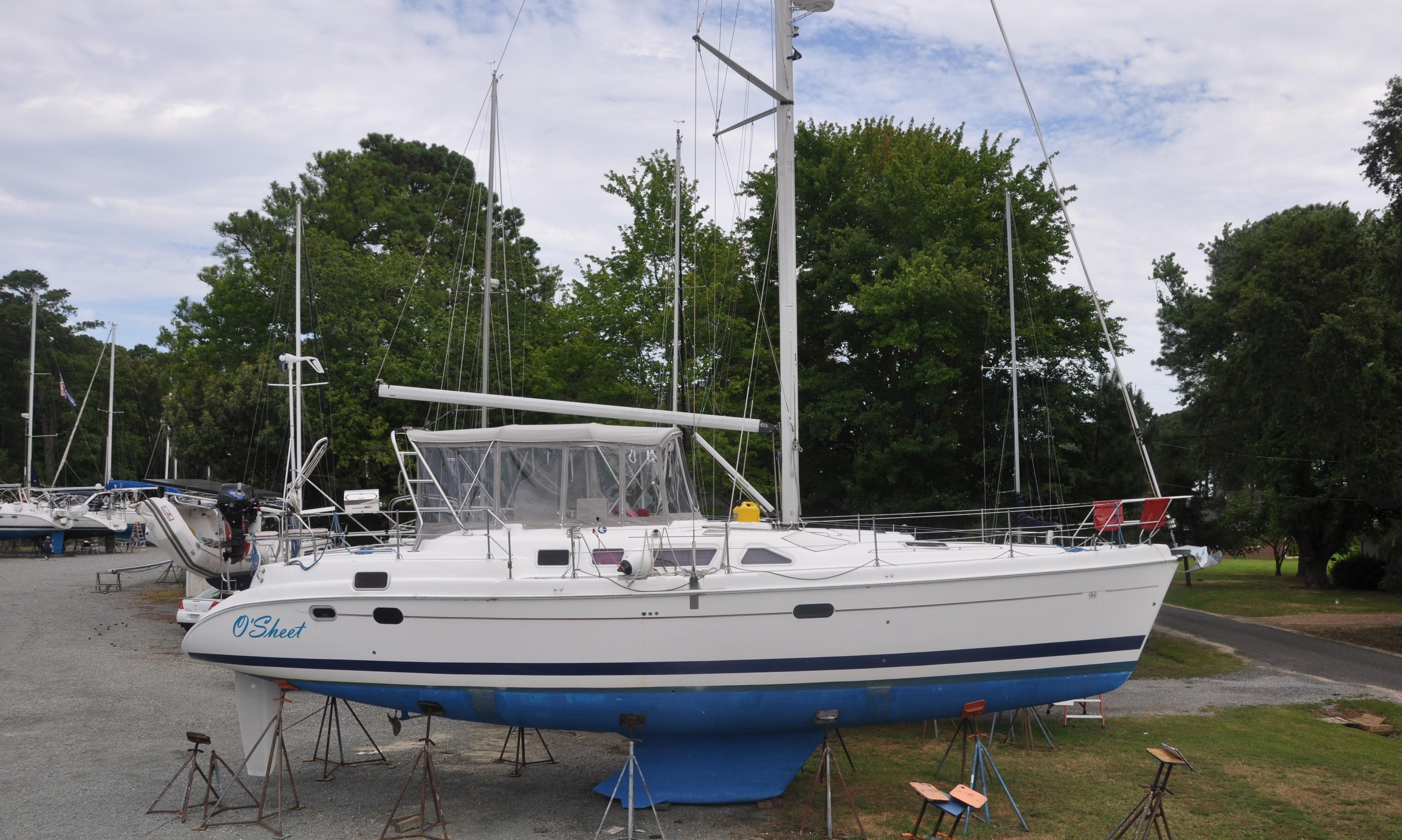 2004 Hunter 456 CC Cruiser for sale - YachtWorld