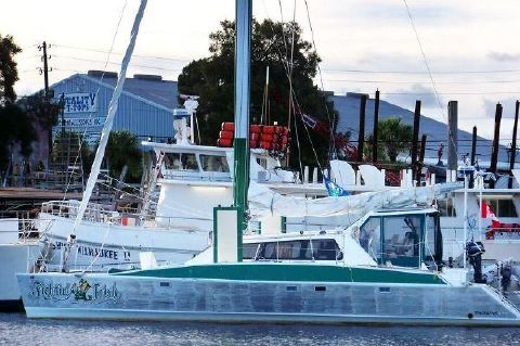 2006 Custom Timmons 499 - Starboard Profile