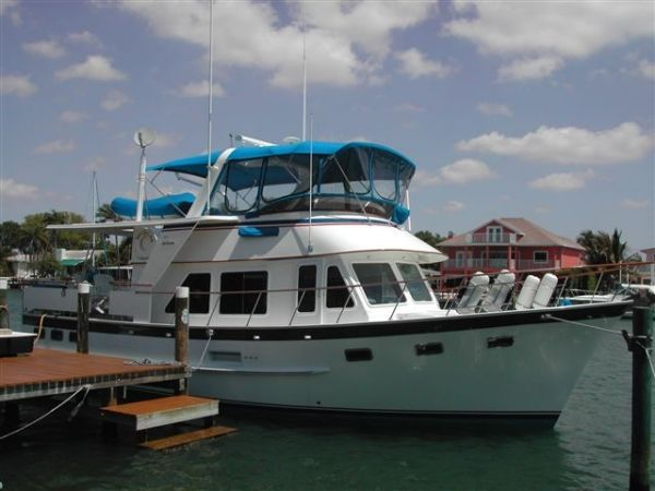 1987 DeFever Stabilized Offshore Cruiser