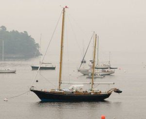 1968 Abeking & Rasmussen Full powered auxiliary aluminum ketch