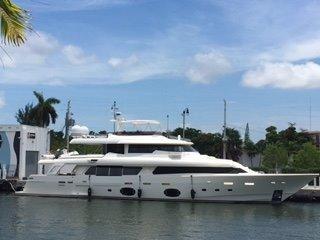 2012 Ferretti Yachts Custom Line Navetta 33