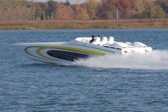 2018 Ocean Express 38 Sport Cat