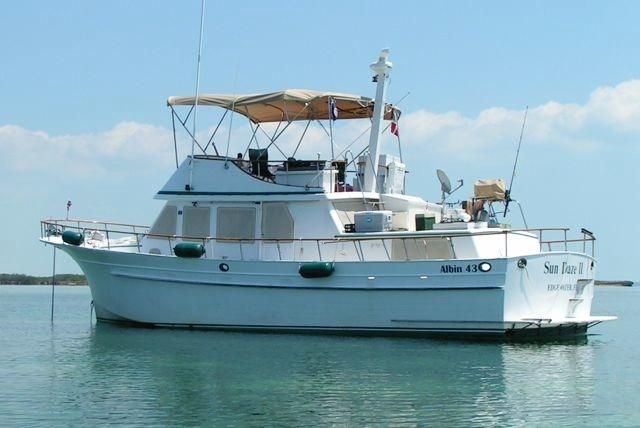 1979 Albin 43 Trawler 43 Boats for Sale - Edwards Yacht Sales
