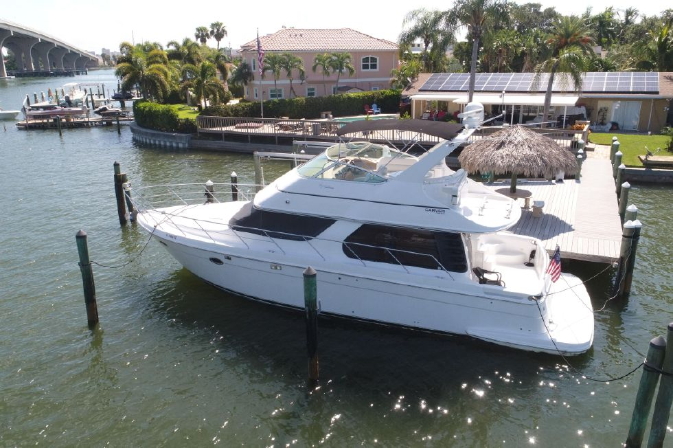 2002 Carver 450 Voyager Pilothouse