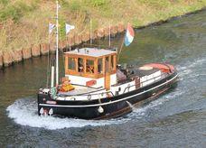 1938 Tugboat Barge