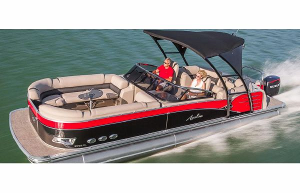2018 Avalon Catalina Platinum Quad Lounge Windshield - 27'