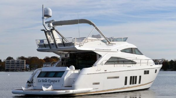 Fairline Squadron 65 Starboard Quarter View