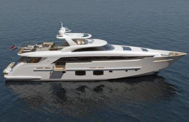 2022 Monte Fino S 32M Custom Superyacht