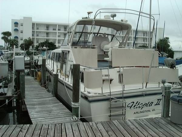 1985 Chris-Craft 381 Catalina 38 Boats for Sale - Edwards