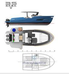 2021 Custom Cantieri Leopard OPEN SPORT 3.5
