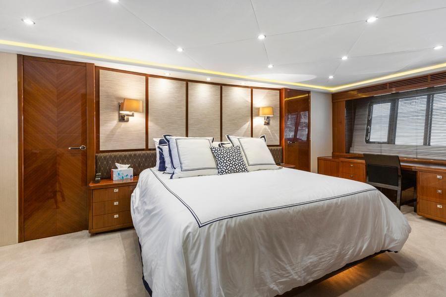 Princess 95 Motoryacht Master Stateroom