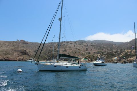 1993 Beneteau Oceanis - On the mooring