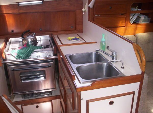 1987 Whitby Ketch - Galley