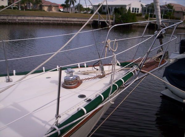 1987 Whitby Ketch - Rechromed Windless