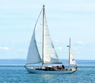 1956 Custom 45 WOODEN YAWL