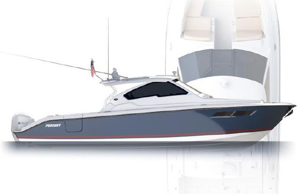 2018 Pursuit DC 365 Dual Console