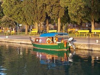 1978 Custom Mahagoni Barca da laguna