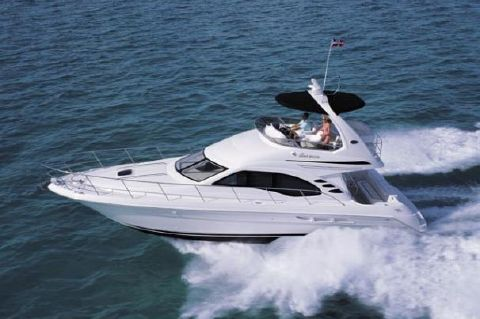 2007 Sea Ray 44 Sedan Bridge - Manufacturer Provided Image