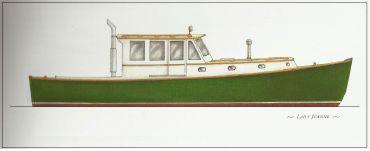 2019 Brooklin Boat Yard 42' Down East Lobster Yacht