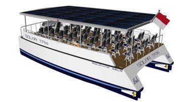 2020 Catamaran Solar Electric Ferry