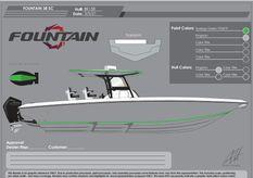 2022 Fountain 38 Center Console